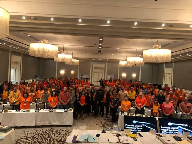 Provincial Council Orange Shirt Day (Friday, September 28, 2018)