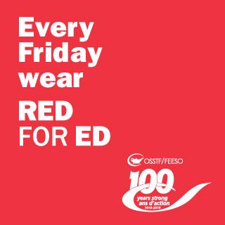 RED FOR ED